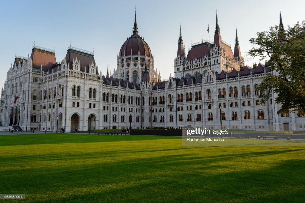 Hungarian parliament building : Foto de stock