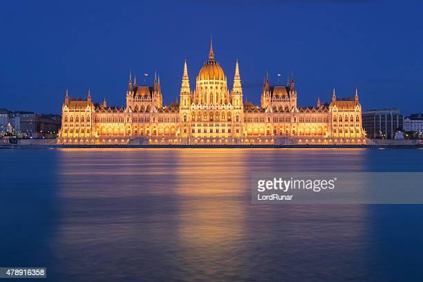 parlamento em budapeste, hungria - sede do parlamento húngaro - fotografias e filmes do acervo