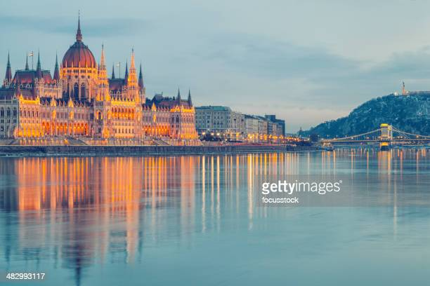 hungarian parliament - hungary stock pictures, royalty-free photos & images