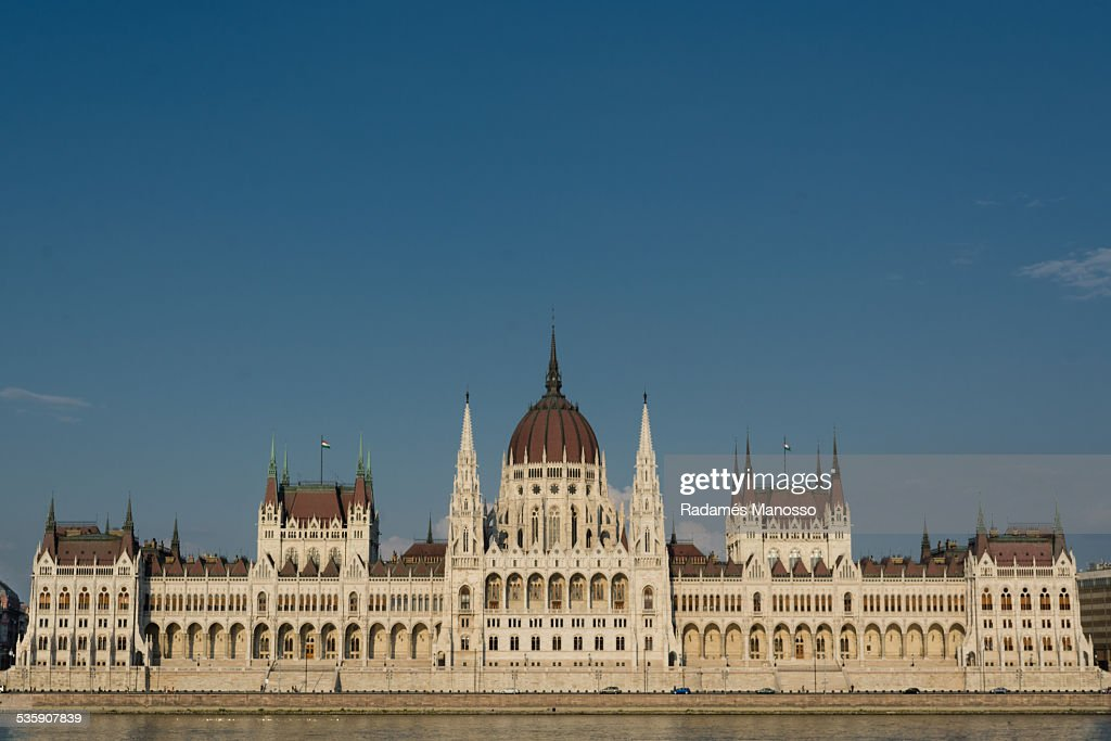 Hungarian parliament : Stock Photo