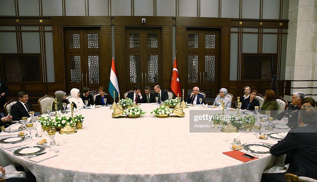 Hungarian President Janos Ader visits Turkey