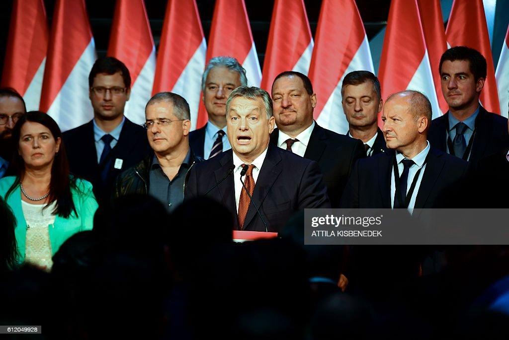 HUNGARY-EUROPE-EU-MIGRANTS-VOTE : News Photo