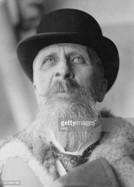 Hungarian statesman Count Albert Apponyi circa 1920