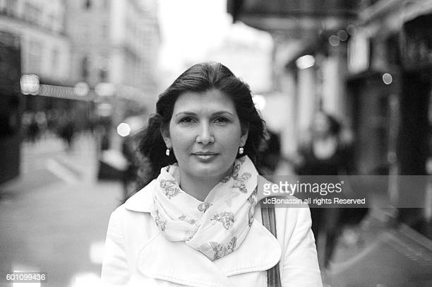 hungarian woman smiling film - jcbonassin stock pictures, royalty-free photos & images