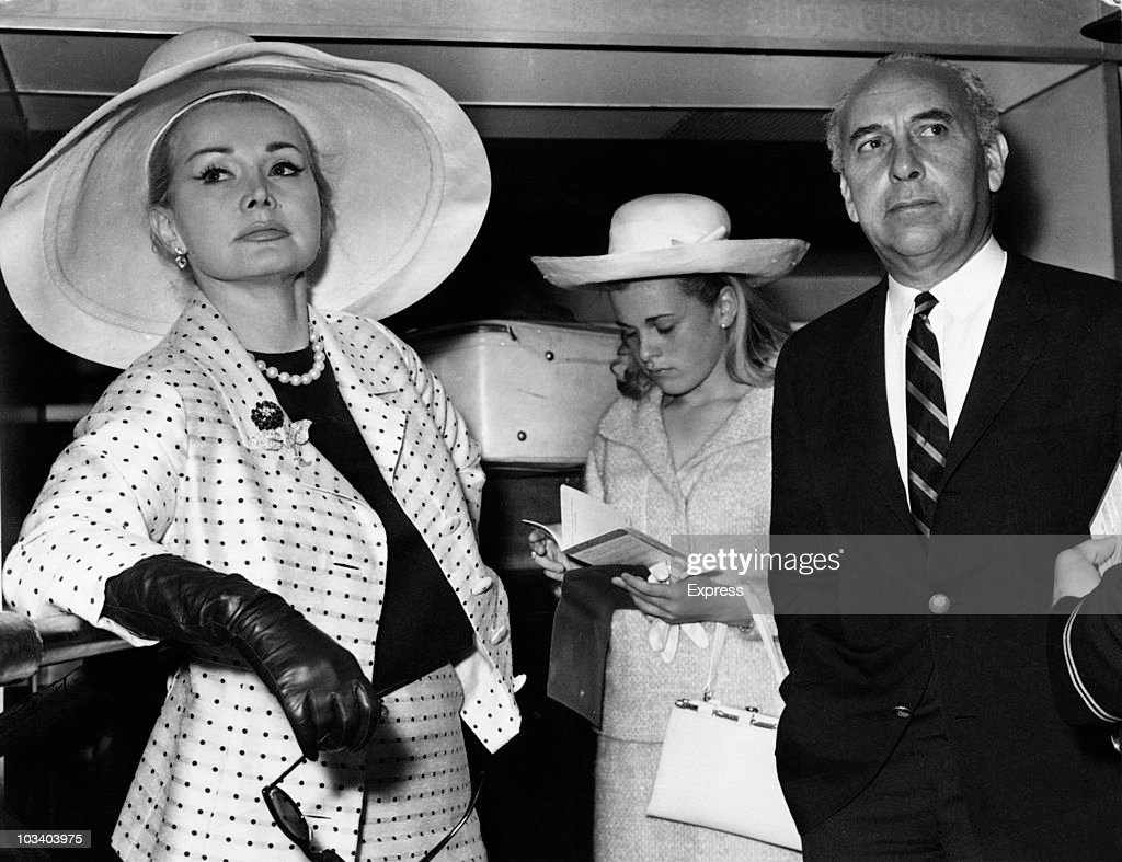 Zsa Zsa Gabor : News Photo