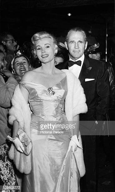 HungarianAmerican actress Zsa Zsa Gabor with millionaire Hal Hayes circa 1956