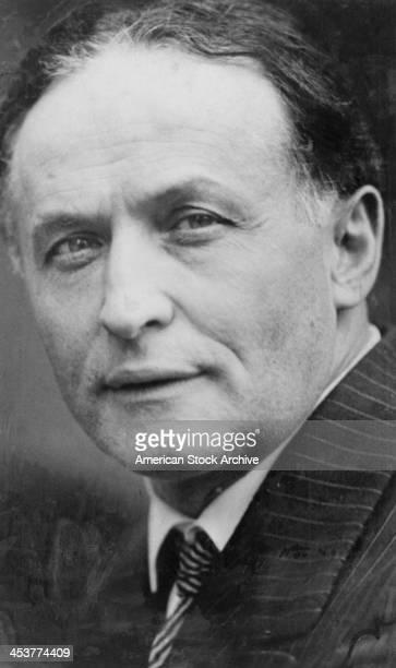 HungarianAmerican escapologist Harry Houdini circa 1925