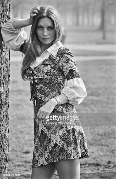 Hungarian-born actress Catherine Schell, UK, 27th March 1972.