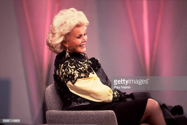 Hungarianborn American actress Zsa Zsa Gabor appears on an episode of the Oprah Winfrey Show Chicago Illinois November 1 1988