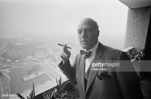Hungarianborn architect and furniture designer Erno Goldfinger Poplar London UK 23rd February 1968