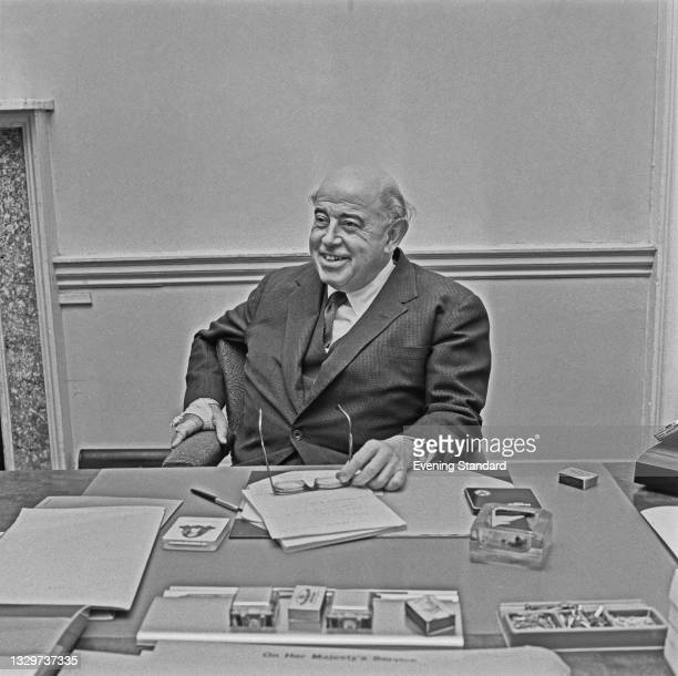 Hungarian-born British economist Dr Nicholas Kaldor , UK, 30th October 1964. He works as an advisor to the British Labour government.
