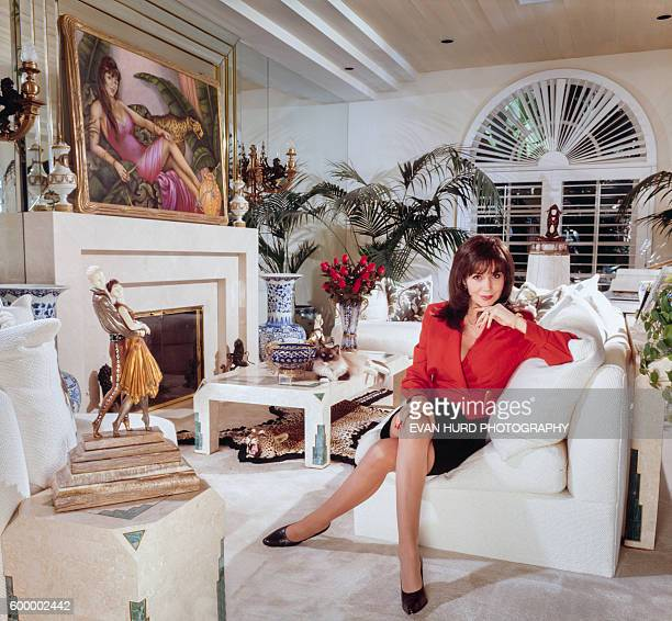 Hungarianborn former actress therapist and sex expert Dr Ava Cadell at her home in Los Angeles