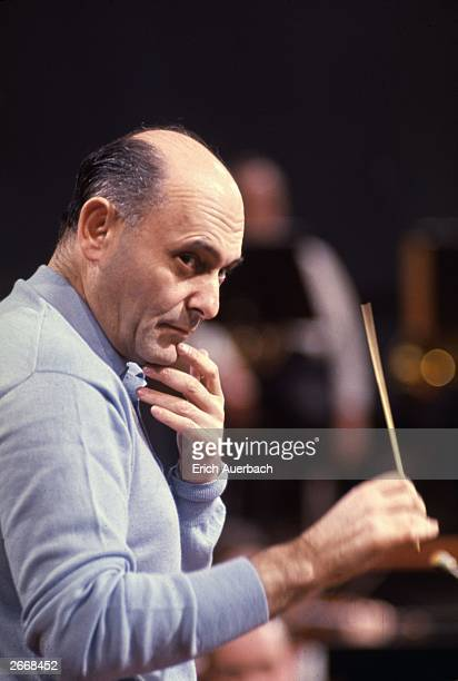 Hungarian-British conductor and pianist Sir Georg Solti , who studied under composer Bela Bartok. During his career, he has been music director of...
