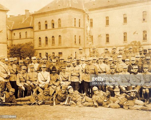 Hungary 20th century Budapest invaded by rumanian troops October 1919