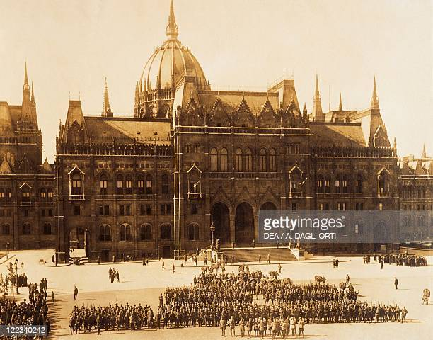 Hungary - 20th century - Budapest occupied by Romanians, September-October 1919.