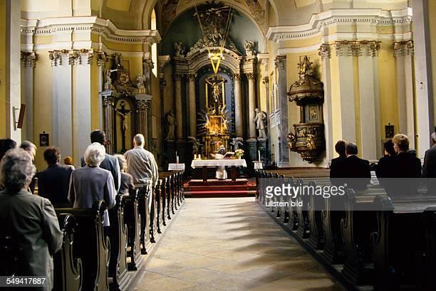 a service in a church