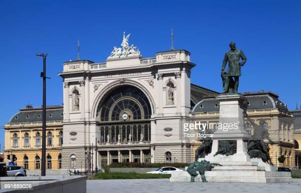 Hungary, Budapest, Keleti railway station, Baross Square,