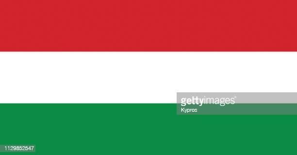 hungary flag - hungria fotografías e imágenes de stock