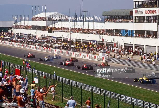 Hungary Formula Two race start 1980s