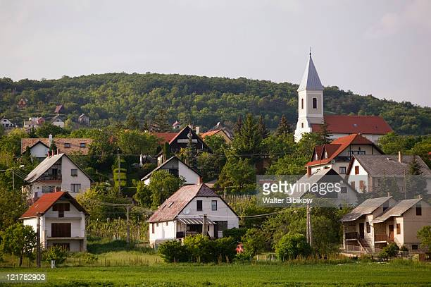 hungary, lake balaton region, paloznak - hungary stock pictures, royalty-free photos & images