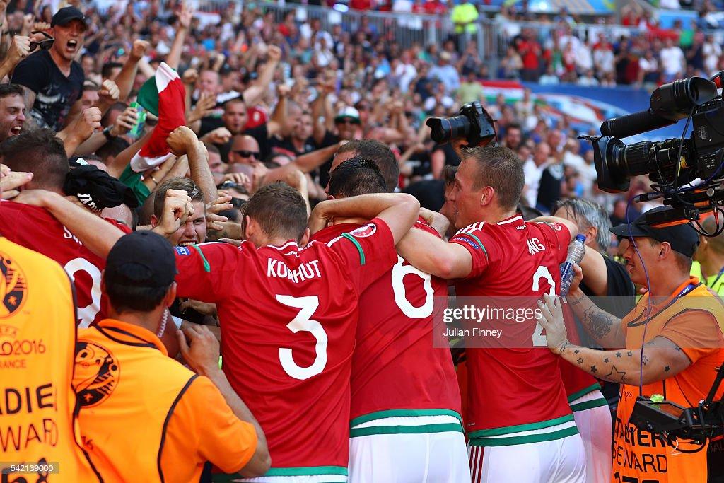 Hungary v Portugal - Group F: UEFA Euro 2016 : News Photo