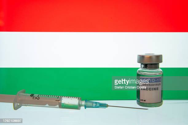 hungary ready for coronavirus vaccine. covid-19 pandemic theme - hungary stock pictures, royalty-free photos & images