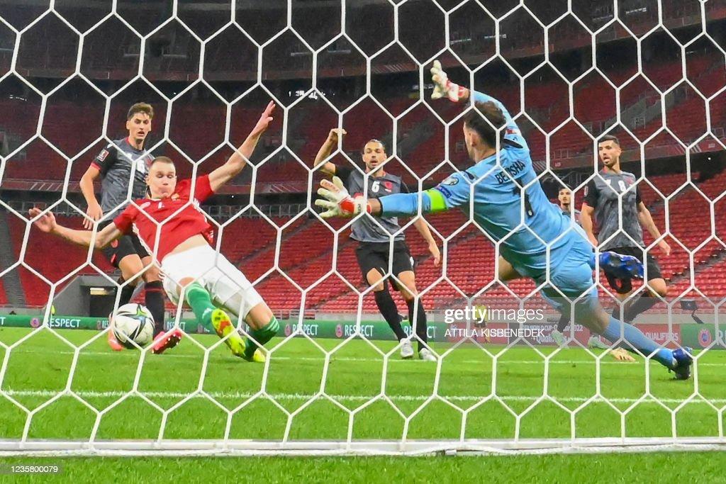 FBL-WC2022-HUNGARY-ALBANIA : News Photo