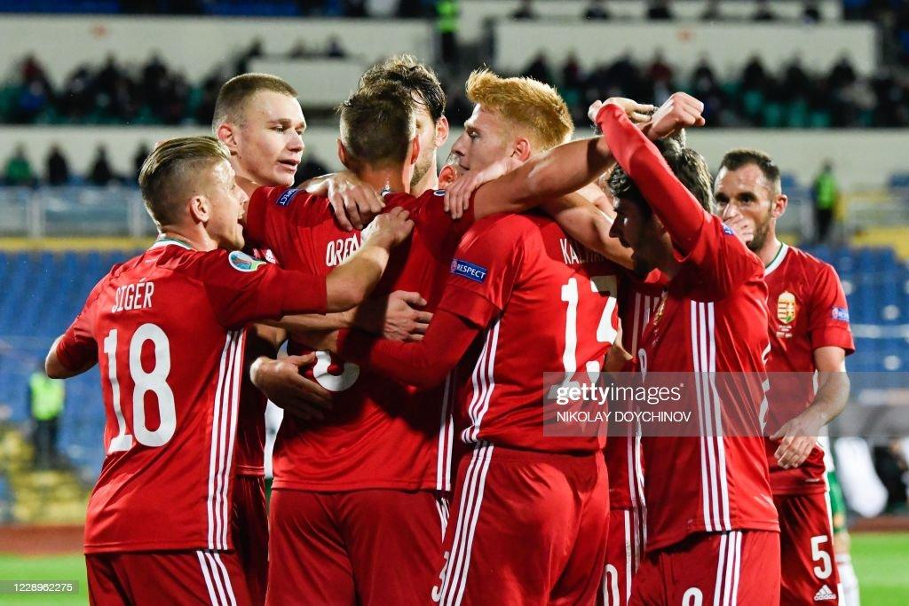 FBL-EURO-2020-PLAY OFF-BUL-HUN : Nachrichtenfoto
