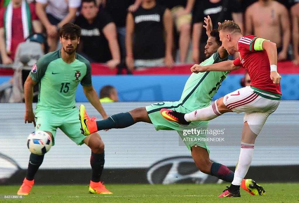 FBL-EURO-2016-MATCH34-HUN-POR : News Photo
