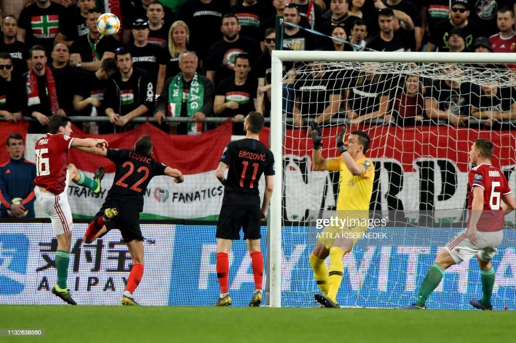 FBL-EURO-2020-QUALIFIER-HUN-CRO : News Photo