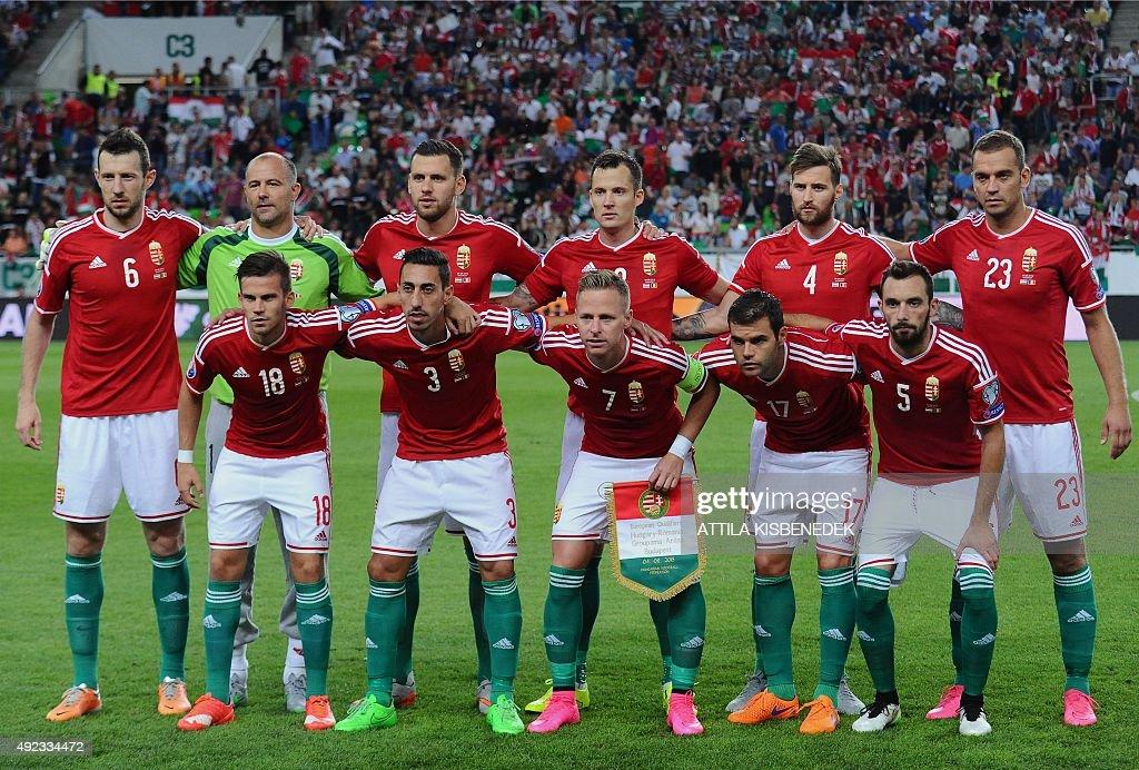 FBL-EURO-2016-HUN-ROM : News Photo