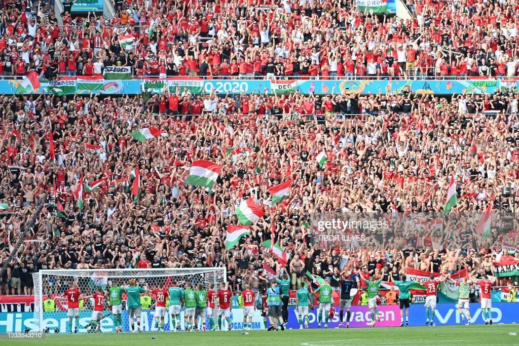 TOPSHOT-FBL-EURO-2020-2021-MATCH23-HUN-FRA : News Photo