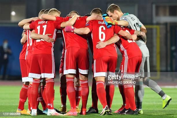 ITA: San Marino v Hungary - FIFA World Cup 2022 Qatar Qualifier