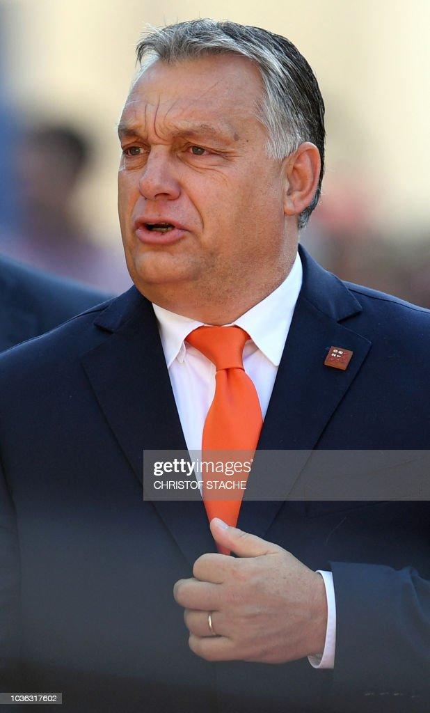 AUSTRIA-EU-SUMMIT : News Photo