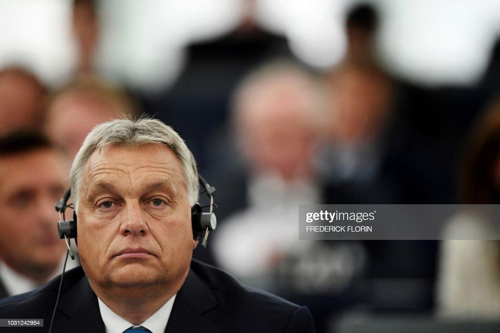 FRANCE-EU-POLITICS-DIPLOMACY-PARLIAMENT : News Photo