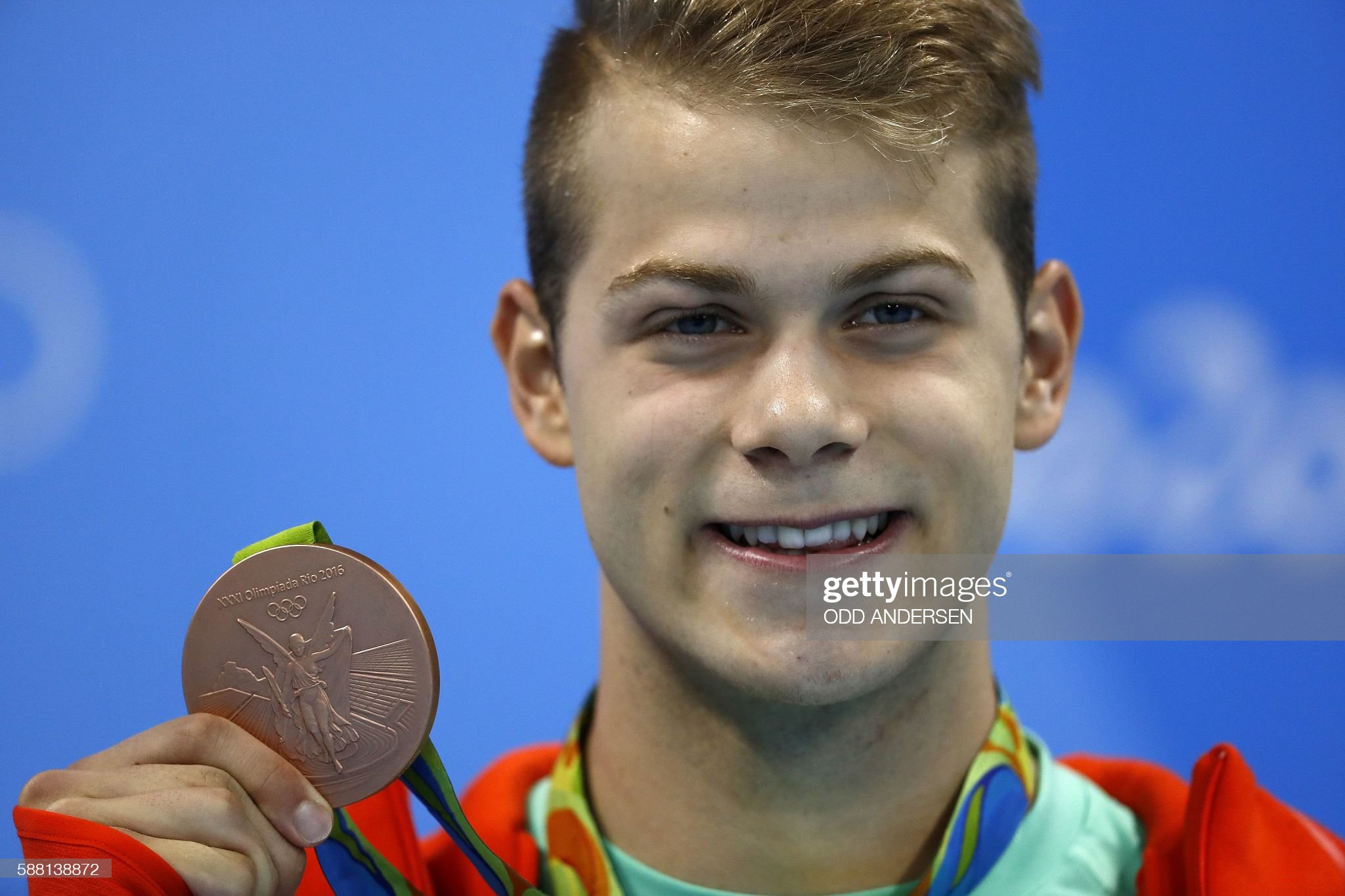 SWIMMING-OLY-2016-RIO-PODIUM : News Photo