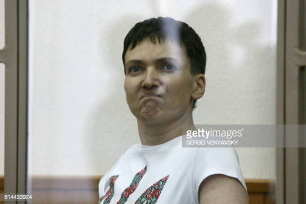 Hungerstriking Ukrainian military pilot Nadiya Savchenko accused of involvement in the killing of two Russian journalists in wartorn Ukraine delivers...