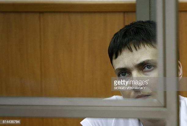 Hungerstriking Ukrainian military pilot Nadiya Savchenko accused of involvement in the killing of two Russian journalists in wartorn Ukraine looks...