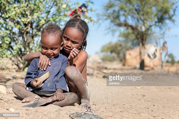 Hungry african children