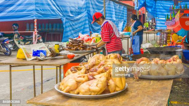 hungry ghost festival in malaysia - hungry ghost festivals in malaysia stock pictures, royalty-free photos & images