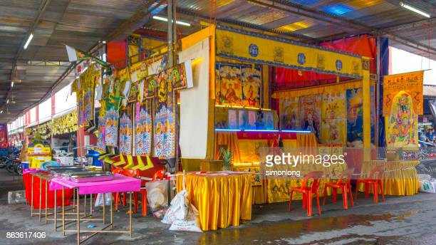 hungry ghost festival - hungry ghost festivals in malaysia foto e immagini stock