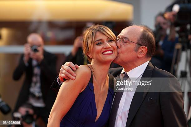 'Hungry Hearts' Premiere - Red Carpet - 71st Venice Film Festival - in the photo: Paola Cortellesi; Carlo Verdone