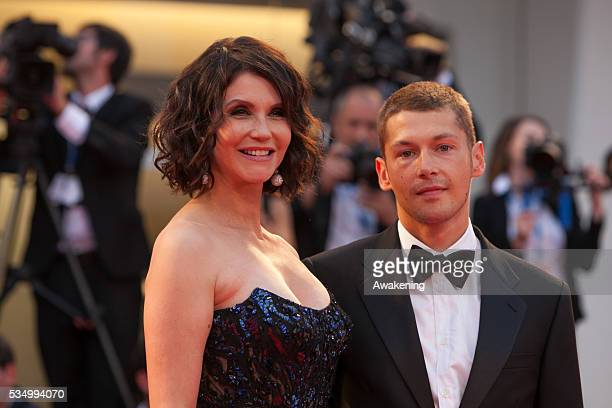 'Hungry Hearts' Premiere Red Carpet 71st Venice Film Festival in the photo Cyril Descours Alessandra Martines