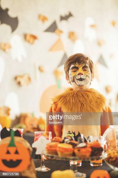Hungrig lion