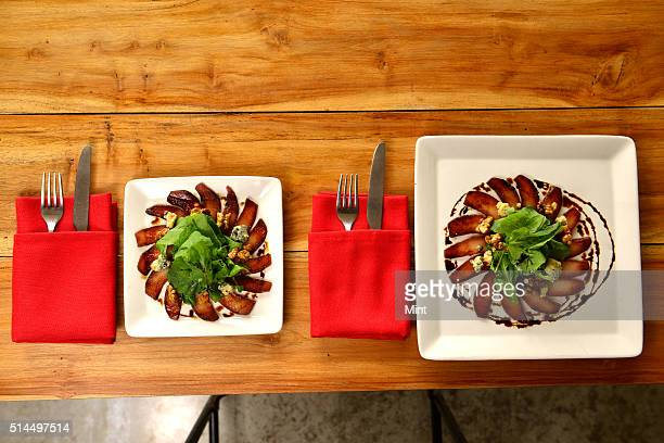 Hungry Monkey restaurant says downsizing plates by 2 inches reduce an individuals food intake by up to 22 percent as smaller plates help in portion...