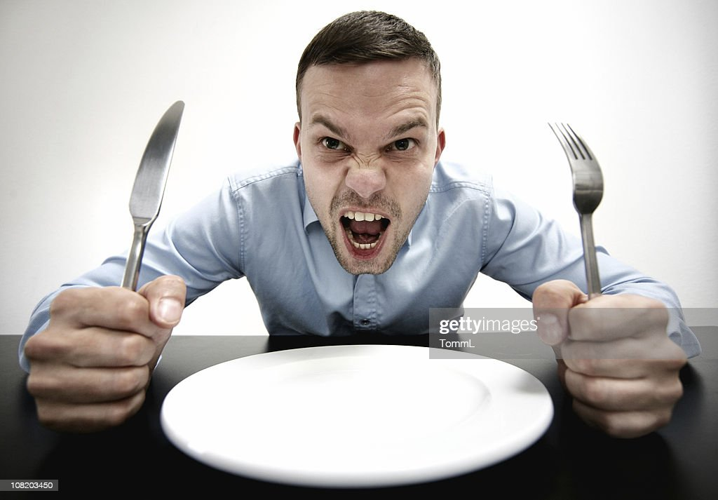 Hungry! : Stock Photo