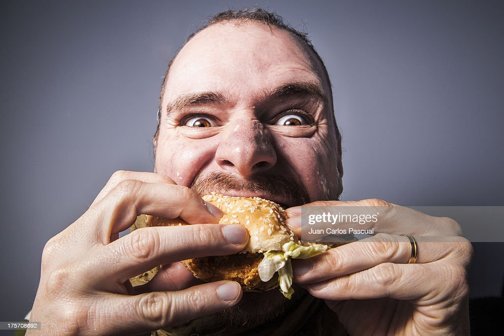Hungry : Stock Photo