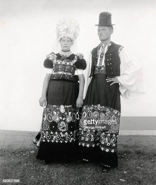Hungry Picture shows a bride and groom posing in traditional wedding attire Undated photo
