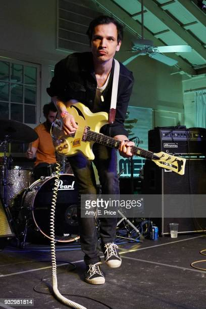 Hunor G Szabo of The Qualitons performs onstage at Sounds from Hungary during SXSW at Palm Door on March 16 2018 in Austin Texas