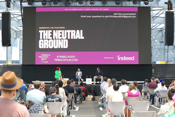 "NY: ""Neutral Ground"" Premiere - 2021 Tribeca Festival"